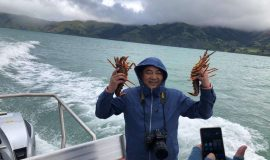 Pipi Journeys - fishing - harbour tour Akaroa Banks Peninsula New Zealand (5)
