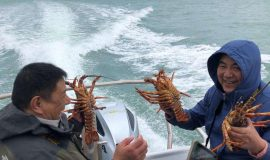 Pipi Journeys - fishing - harbour tour Akaroa Banks Peninsula New Zealand (6)