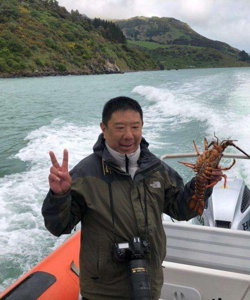 Pipi Journeys - fishing - harbour tour Akaroa Banks Peninsula New Zealand (7)