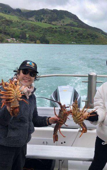 Pipi Journeys - fishing - harbour tour Akaroa Banks Peninsula New Zealand (8)